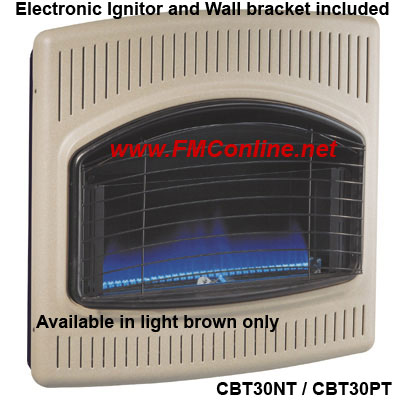 COMFORT GLOW VENT FREE GAS SPACE WALL HEATER 20K « BEST WALL HEATER