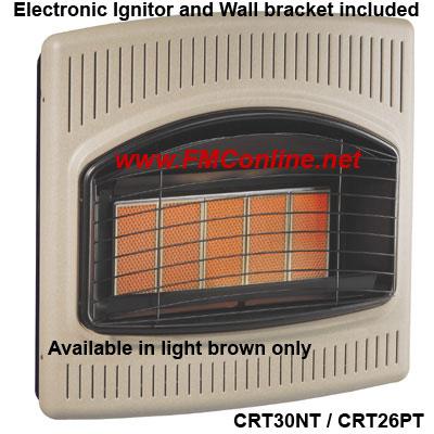 Crt30nt Crt26pt Comfort Glow Infra Red Heaters Fmconline