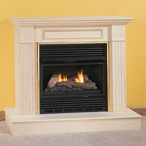 vent free compact gas fireplaces with gas logs fmconline