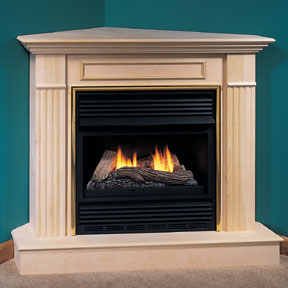 Corner Fireplaces Compact Fireplace Propane Corner
