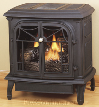 Comfort Glow Csbt Cast Iron Stove And Gas Logs Fmconline