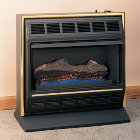 Ventfree Radiant Flame Gas Log Heater Fmconline