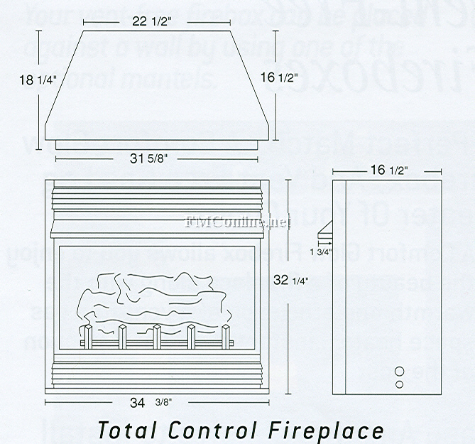 Vent free gas fireplaces @ FMConline